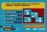 Show do Milhão Genesis If you choose the other players help, a screen showing the percentage of players guessing each answer will appear.