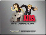 Spy Kids Learning Adventures: Mission: The Underground Affair Windows Title screen