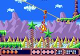 McDonald's Treasure Land Adventure Genesis Using your grapple to ride on the rope