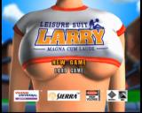 Leisure Suit Larry: Magna Cum Laude (Uncut and Uncensored!) Xbox Main menu