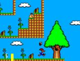 Férias Frustradas do Pica-Pau SEGA Master System Woody runs so fast he barely touches the ground.