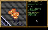 Buck Rogers: Matrix Cubed DOS The enemies fire at you