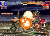 The King of Fighters '97 Neo Geo Benimaru Nikaido's SDM Raikou Ken hit-surpasses Orochi Shermie's move Yatanagi no Muchi in a flash!