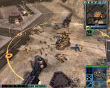 Command & Conquer 3: Tiberium Wars Windows The Battle Base is heavy defense platform that has the ability to repair damaged vehicles.