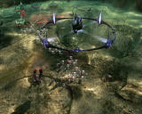 Command & Conquer 3: Tiberium Wars Windows Alien Mothership is armed with the Catalyst Cannon which sends a destructive shockwave.