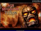Age of Mythology: The Titans Windows Title screen