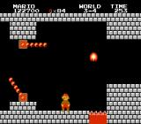 Super Mario Bros. NES Every fourth level is in a castle.