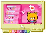 Hello Kitty Cutie World Windows This little bear loves you for your sundaes...