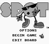 Spot Game Boy Title Screen