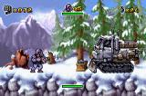 CT Special Forces Game Boy Advance First boss, a snowtruck