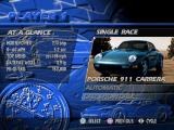 The Need for Speed PlayStation Car selection
