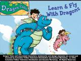 Dragon Tales: Learn & Fly With Dragons Windows The Title screen