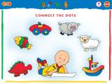 Caillou: Magic Playhouse Windows ...such as connect-the-dots, which offers even more choices