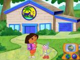 Dora the Explorer: Animal Adventures Windows Hmmm, where to now? Oh I know - let's ask Map!
