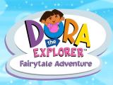 Dora the Explorer: Fairytale Adventure Windows Dora's title screen