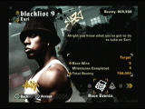 Need for Speed: Most Wanted PlayStation 2 Main Menu - Blacklist