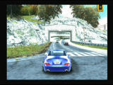 Need for Speed: Most Wanted PlayStation 2 Screen turns blue when police notices you