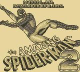 Spider-Man 2 Game Boy Title Screen