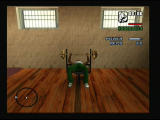 Grand Theft Auto: San Andreas PlayStation 2 Gym is for getting more muscle and stamina