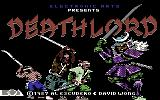 Deathlord Commodore 64 Title screen