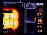 Galaga: Destination Earth PlayStation Side-scrolling attack pattern