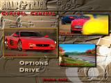 The Need for Speed DOS Control Central - the main menu