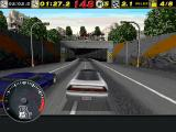 The Need for Speed DOS One of many tunnels in the game