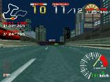 Ridge Racer PlayStation First-person view