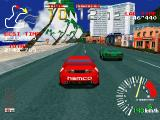 Ridge Racer PlayStation Struggling for a better position.