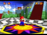 Super Mario 64 Nintendo 64 Inside the castle