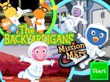 The Backyardigans: Mission to Mars Windows The Backyardigans title screen
