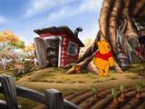 Disney's Winnie the Pooh Preschool Windows Pooh looking for Rabbit, who is running around in a terrible hurry