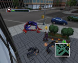 Ultimate Spider-Man Windows Leaping away after a one-two combo