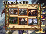 Heroes of Might and Magic IV Windows Campaign selection screen