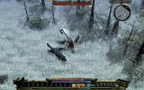 Loki: Heroes of Mythology Windows Engaged in battle with wolves.