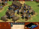 Age of Empires II: The Age of Kings Windows A bustling village
