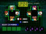 The King of Fighters: Evolution Windows Team mode - order select