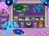 Blue's Clues: Blue's Birthday Adventure Windows Blue wants to put away her sweater, but where's the hanger?