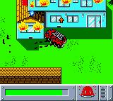 Matchbox: Emergency Patrol Game Boy Color Shoot water from your fire engine to douse the flames.