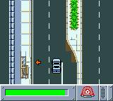 Matchbox: Emergency Patrol Game Boy Color The Police Car is faster than the fire engine.