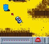 Matchbox: Emergency Patrol Game Boy Color The blue shield starts a new emergency.