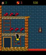 Roko-Loko no Castelo do Ratozinger J2ME Collecting these notes will grant you extra lives.