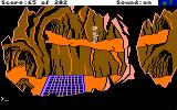 Space Quest: Chapter I - The Sarien Encounter Amiga Walking along the ledge.