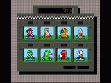 Super Mario Kart SNES Character selection