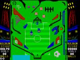 Soccer Pinball ZX Spectrum Firing of the pinbal with the spring