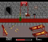 Chiller NES You can shoot chained guys, operate the rack, and feed this guy to the croc.
