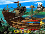 Donkey Kong Country 2: Diddy's Kong Quest SNES Pirate ship area