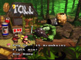 Donkey Kong Country 2: Diddy's Kong Quest SNES Toll bridge... what to do?