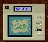 SimCity SNES Players wishing to start a new city can choose one of 998 pre-determined maps.