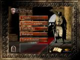 FireFly Studios' Stronghold Crusader Windows Main menu
